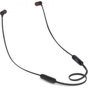 JBL T110BT Wireless In-Ear Headphones (Black)