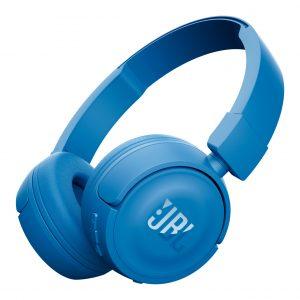 JBL Bluetooth T450BT Headphones Blue