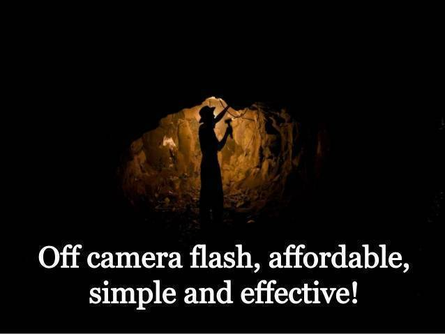 Single Light Off Camera Flash Kit