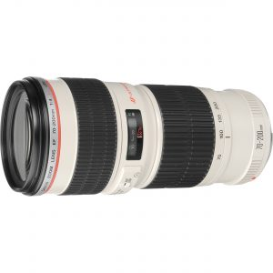 Canon EF 70-200mm f/4 L IS USM MKII Lens