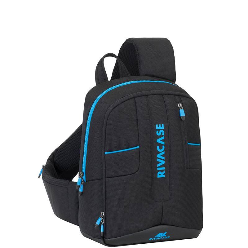 RivaCase 7870 black Drone Slingbag medium for 13.3″ laptop