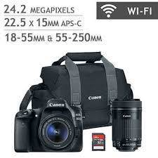 Canon EOS 800D Double IS Bundle
