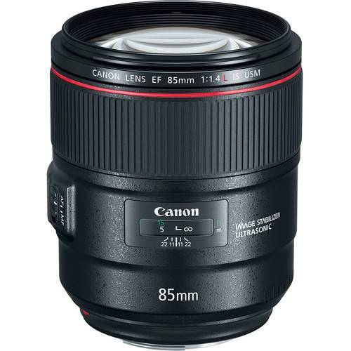 Canon EF 85mm f/1.4 IS USM Lens