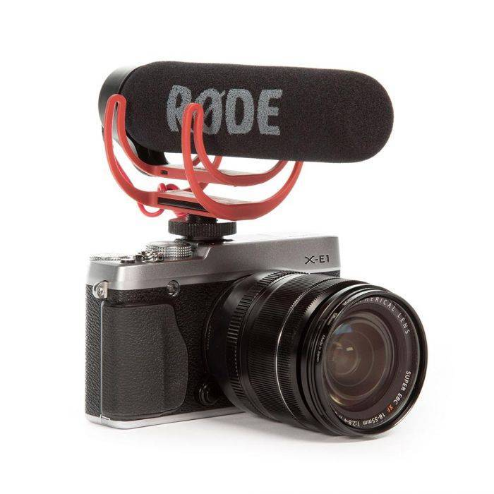 Video Production & Editing Lightweigh Camera Mic ~ Rode Video Mic Co