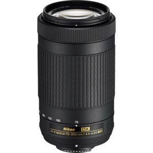 Nikon 70-300mm F4.5-6.3 AF-P G ED DX Zoom Lens