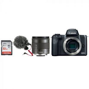 Canon EOS M50 Vlogger Bundle