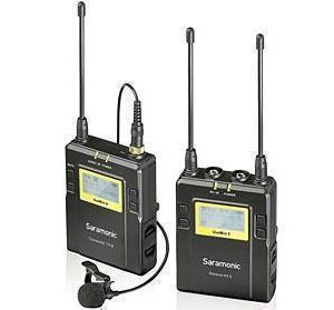 Saramonic UwMIC9 RX9+TX9 UHF Wireless Microphone System with Dual-Channel Receiver