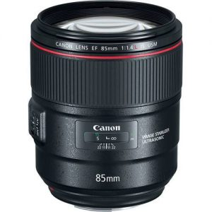 Canon EF 85mm f/1.4 IS USM Lens