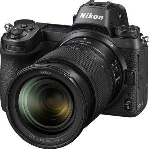 Nikon Z6 Mirrorless Camera + 24-70mm F/4 Lens + Adapter