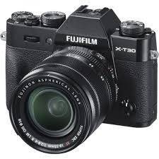 FUJIFILM XT-30+18-55mm F2.8-4 Mirrorless Camera Lens Kit