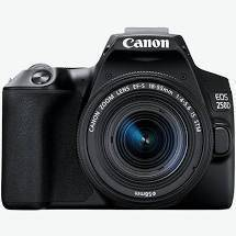 Canon EOS 250D (24 MP) DSLR Camera Black Body Only
