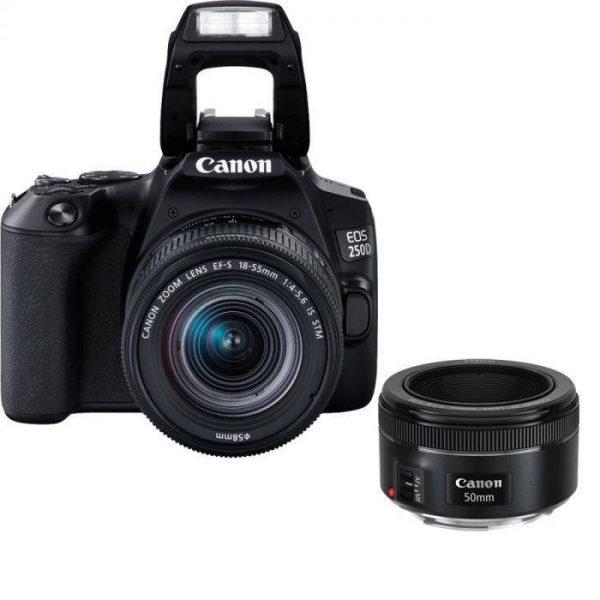 Canon EOS 250D (24 MP) Essential Portrait Kit