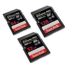 SanDisk Extreme Pro SD Card 300 MB/s Memory Card