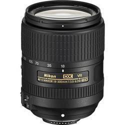 Nikon 18 -300mm VR F3.5-6.3 G ED DX Lens