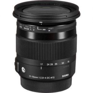 Sigma Lens 17-70mm f2.8-4 DC MACRO OS HSM CONTEMPORARY