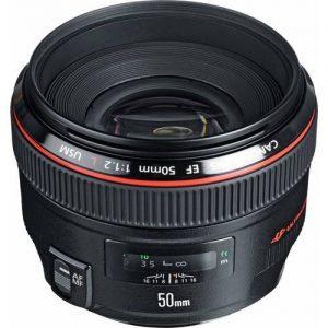 Canon EF 50 mm f 1.2 L USM Lens