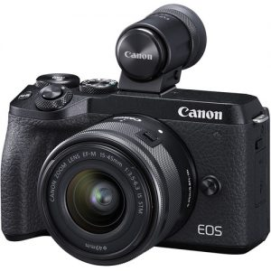 Canon EOS M6 MkII + EF-M15-45mm Lens Kit
