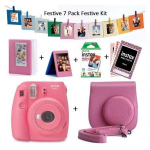 Fuji Instax Mini 9 Instant Film Camera Value Bundle