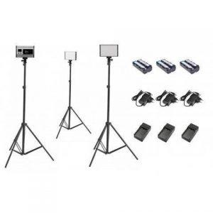 Tolifo PT-15 Bi-Color LED On Camera Light Kit C