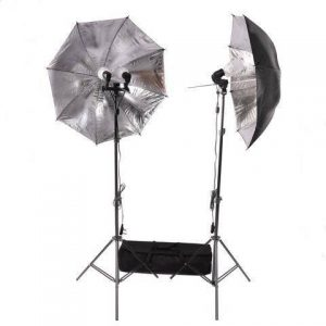 320W LED Umbrella Dual Head Light Kit