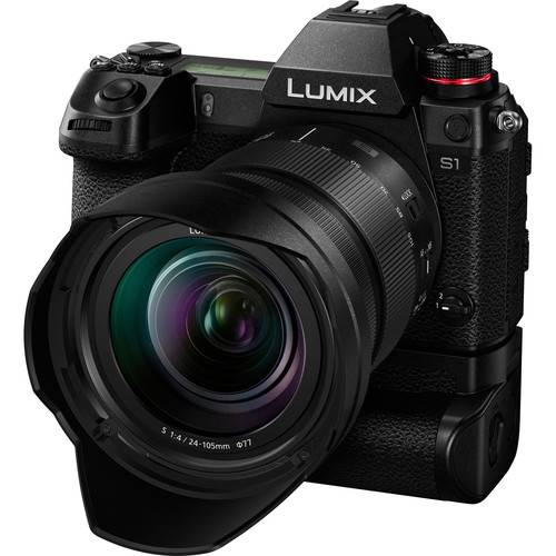 Panasonic LUMIX S1 Full Frame Mirrorless Camera with 24-105mm Lens