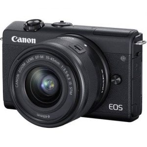 Canon EOS M200 Mirrorless Digital Camera + 15-45mm Lens