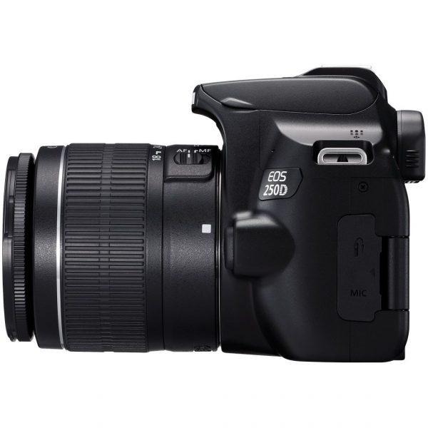 Canon EOS 250D + 18-55mm Lens