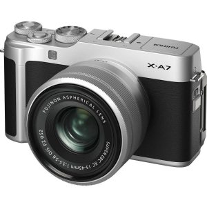 Fujifilm X-A7 Mirrorless Camera with 15-45mm Lens Kit