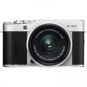 Fujifilm X-A5 Compact Mirrorless Digital Camera + 15-45mm Lens Kit