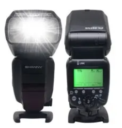 Shanny SN586 2,4Ghz Radio Slave Speedlite and Trigger for Canon/Nikon