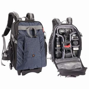 Jenova Large DSLR & Laptop Roller/Trolley Back Pack