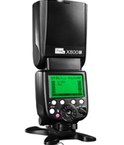 Pixel X800C PRO GN=60, 2,4 GHZ Master and Slave Speedlites for Canon