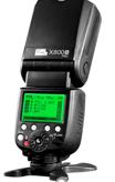 PIXEL X800C Pro GN=60-HSS-ETTL Master 2,4 Ghz Radio/Optical Slave Speedlite for Canon - Set of 2
