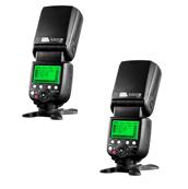 Pixel X800N Pro GN=60-HSS-ETTL Master 2,4 Ghz Radio Optical Slave - Set of 2