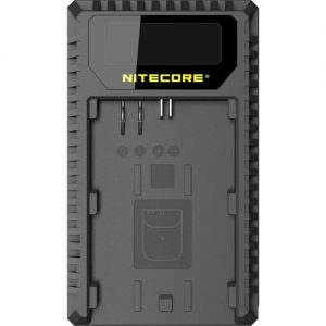 Nitecore UCN1 USB Dual Compact Travel Charger for Canon Batteries