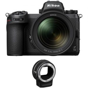 Nikon Z 6II Mirrorless Digital Camera with 24-70mm f4 Lens and FTZ Adapter